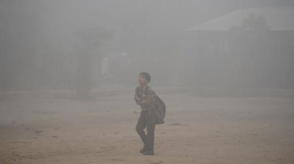 New Delhi en pleine asphyxie — Pollution