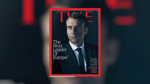 """Pour le """"Time"""", Emmanuel Macron peut être """"le prochain leader de l'Europe"""""""