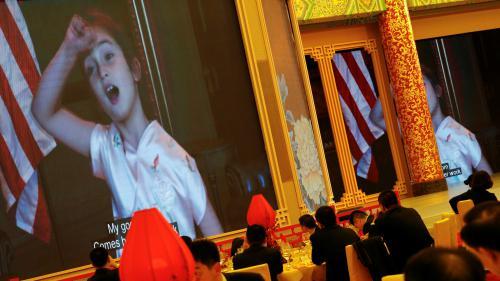 VIDEO. Visite de Donald Trump en Chine : la petite-fille du président américain enchante la Chine