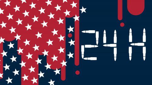 VIDEO. Vingt-quatre heures de violences par armes à feu aux Etats-Unis