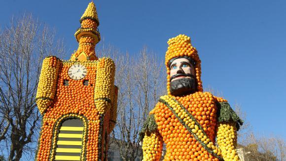 La fête du citron à Menton