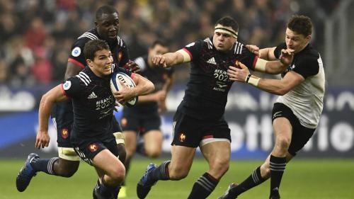 Rugby : la France perd avec les honneurs contre la Nouvelle Zélande (18-38)