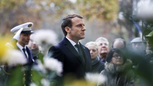 VIDEO. Commémorations du 11-Novembre : Emmanuel Macron ravive la flamme sur la tombe du soldat inconnu