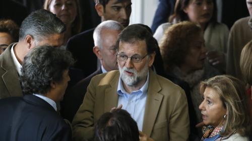 """VIDEO. Espagne : Mariano Rajoy en appelle à la """"majorité silencieuse"""" pour """"récupérer la Catalogne"""""""
