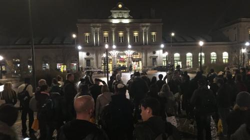 """La gare de Reims évacuée pendant plusieurs heures après une """"mauvaise blague"""""""