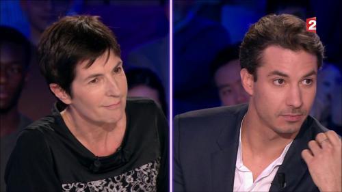"""VIDEO. """"Prenez un Xanax"""" : face à face houleux entre Jérémy Ferrari et Christine Angot sur le plateau de """"On n'est pas couché"""""""