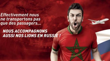 Mondial de foot : quand la Royal Air Maroc se moque (gentiment) de l'Algérie