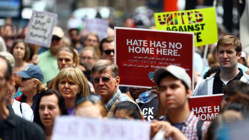 Etats-Unis : les crimes racistes ont augmenté autour de l'élection de Donald Trump