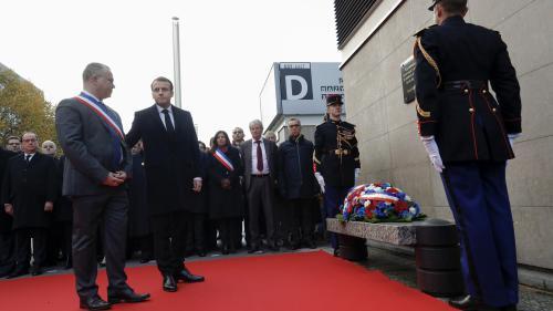 DIRECT. Deux ans après les attentats, suivez les commémorations du 13-Novembre à Paris et Saint-Denis en présence d'Emmanuel Macron