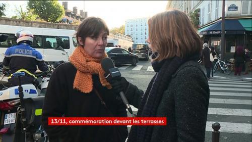 """VIDEO. """"On est très déçus et surtout attristés"""", déplore une habitante recalée des commémorations du 13-Novembre"""