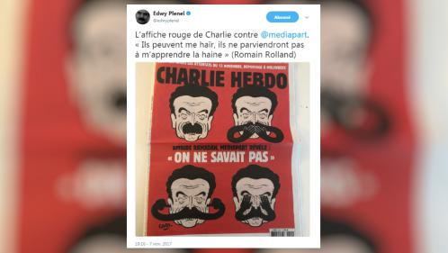 """Charlie Hebdo"" contre Edwy Plenel : la polémique en quatre actes"