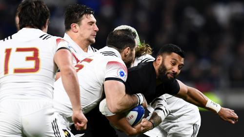 Rugby : les Français s'inclinent 23-28 face aux Néo-Zélandais