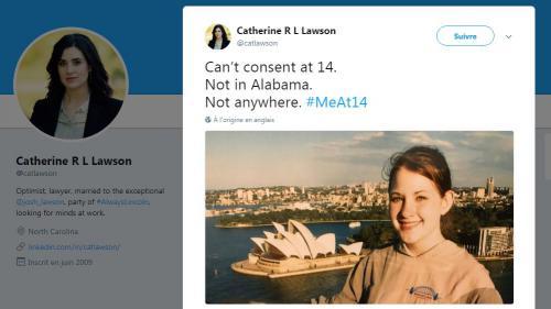 """""""Moi à 14 ans"""" : des Américaines se racontent pour sensibiliser au consentement"""