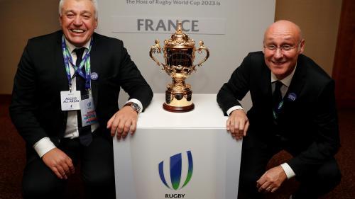 Rugby : la France décroche l'organisation de la Coupe du monde 2023