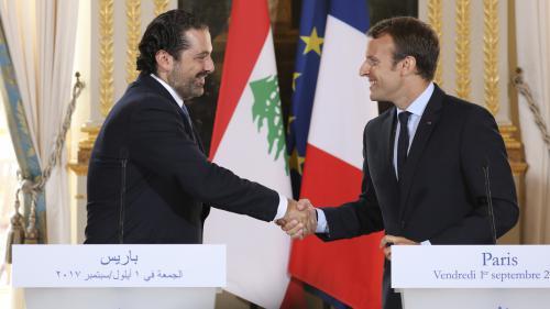 Saad Hariri, le Premier ministre libanais démissionnaire, accueilli en France