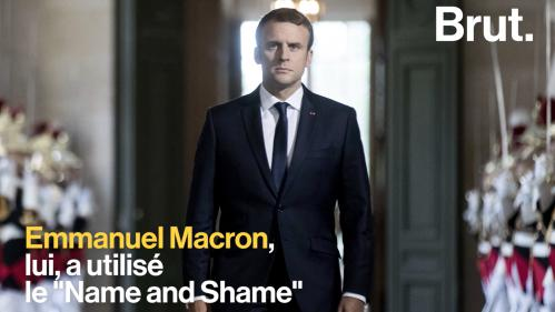 Le « Name and Shame », nouvelle arme favorite d'Emmanuel Macron ?