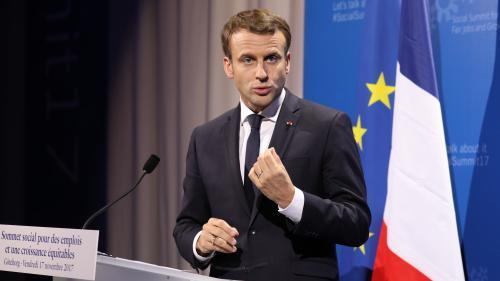 """VIDEO. Macron sur le Libanais Hariri : """"Nous allons accueillir à Paris le Premier ministre d'un pays ami de la France"""""""