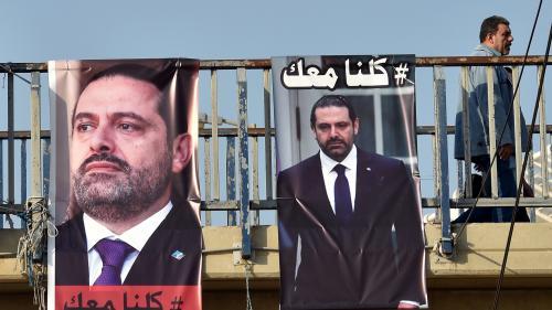 """Saad Hariri reçu à l'Elysée par Emmanuel Macron : """"Il y avait une percée diplomatique possible et elle a été réussie"""""""