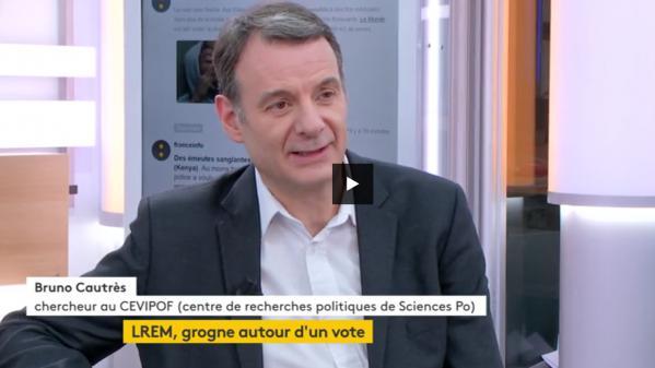 """Vidéo. """"La République en Marche doit se structurer"""""""