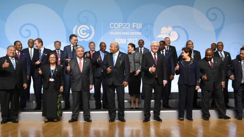 Climat : ce qu'il faut retenir de la COP23