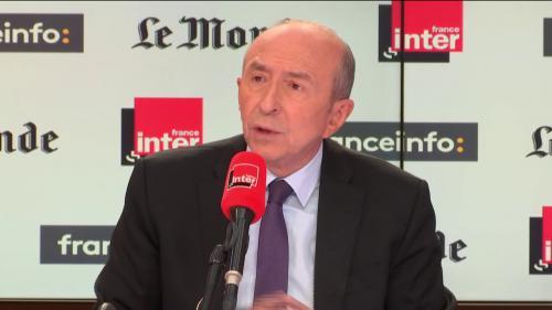 """LREM: un départ de Christophe Castaner du gouvernement """"semble difficile"""", estime Gérard Collomb"""