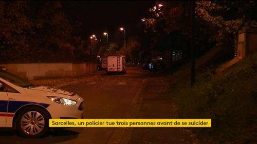 Sarcelles : un policier tue trois personnes avant de se suicider avec son arme de service