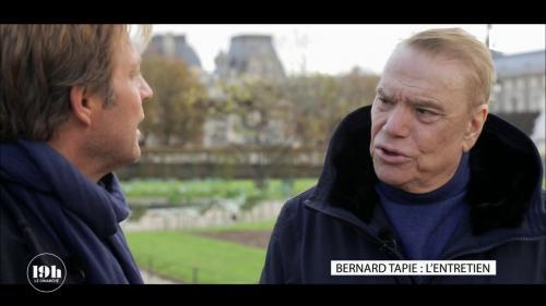 """VIDEO. Bernard Tapie se dit """"heureux comme tout d'avoir choisi l'Assistance publique"""" pour traiter son cancer"""
