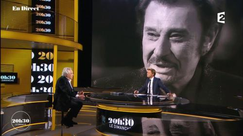 "VIDEO. ""Il a un sacré courage"", confie Michel Sardou à propos de Johnny Hallyday atteint d'un cancer"