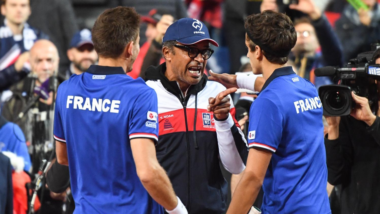 Coupe davis la france remporte le double 3 sets 1 et - Horaire double coupe davis ...
