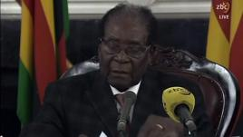 Zimbabwe  : le discours surréaliste de Robert Mugabe
