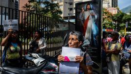 VIDEO. Venezuela : face à la pénurie de médicaments, les greffés appellent à l'aide internationale