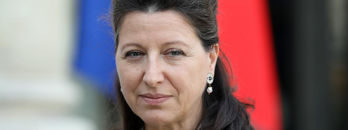 La ministre de la Santé et des Solidarités Agnès Buzyn à l\'Elysée, le 17 octobre 2017.
