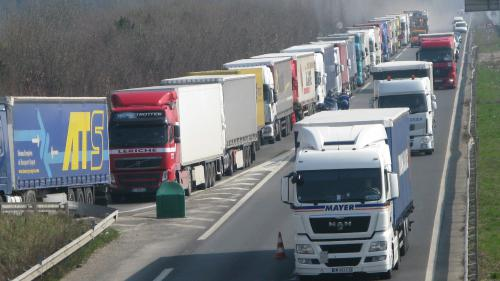 nouvel ordre mondial   Mobilisation des routiers :
