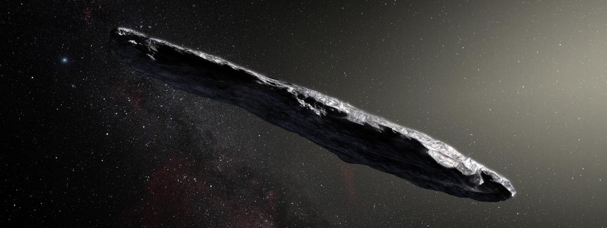 Un astéroïde détecté en octobre vient bien d'un autre système solaire