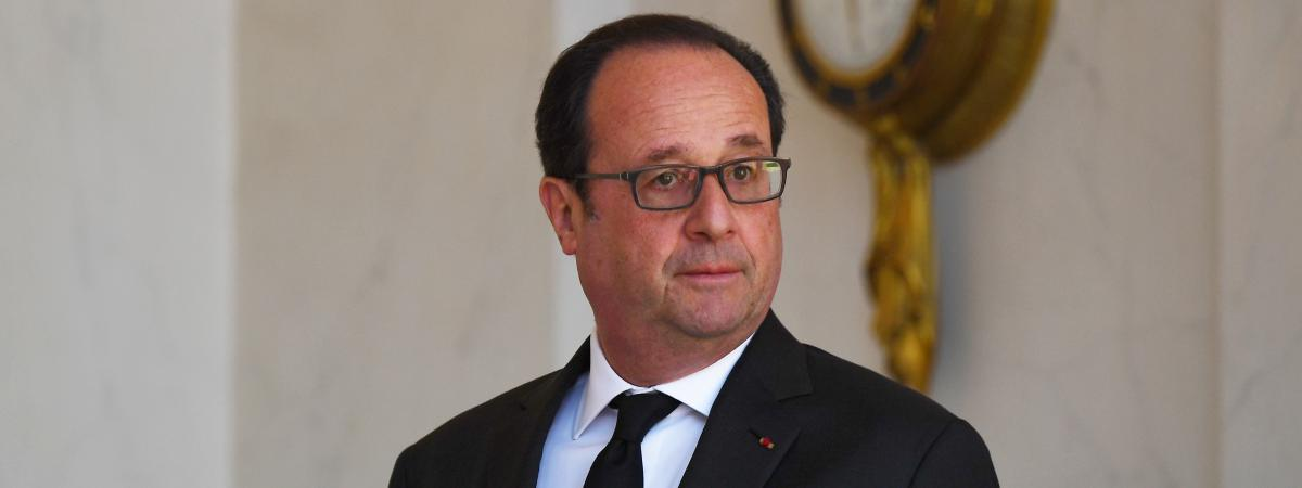 François Hollande, le 12 avril 2017.