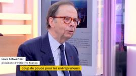 """VIDEO. Louis Schweitzer : """"la France est le premier pays d'Europe en création d'entreprises"""""""