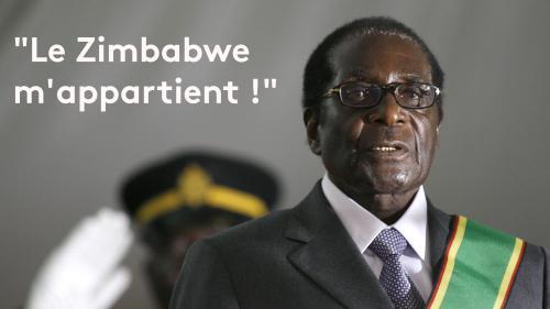 """EN IMAGES. """"Je suis le Hitler de notre époque"""" : Robert Mugabe en sept formules choc"""