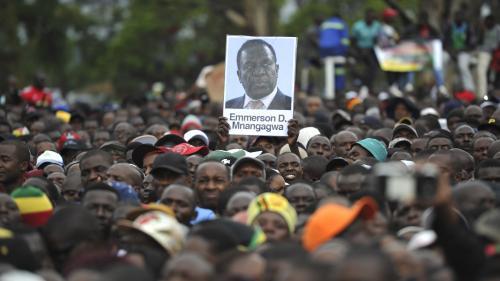Zimbabwe : Emmerson Mnangagwa remplacera Robert Mugabe à la tête du pays