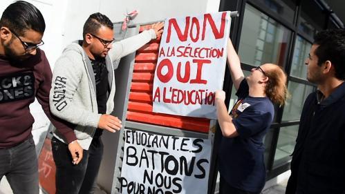 Réformes : des lycéens et étudiants protestent