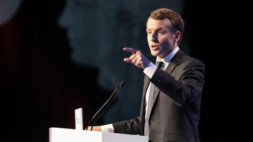 """VIDEO. """"C'est profondément injuste, alors pourquoi la défendre ?"""" Macron soutient la fin de la taxe d'habitation"""