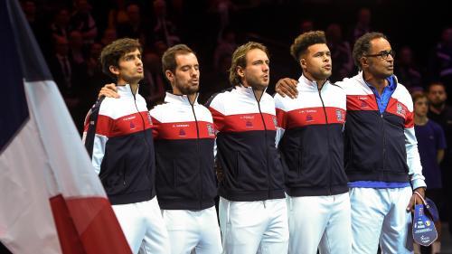 """VIDEO. Coupe Davis : la """"Marseillaise"""" arrache des larmes aux joueurs français"""