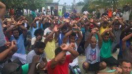 VIDEO. En Papouasie, la police évacue sans ménagement un camp de réfugiés
