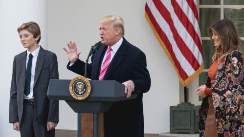 """Donald Trump décline l'offre """"probable"""" de """"Time"""" pour être personnalité de l'année"""