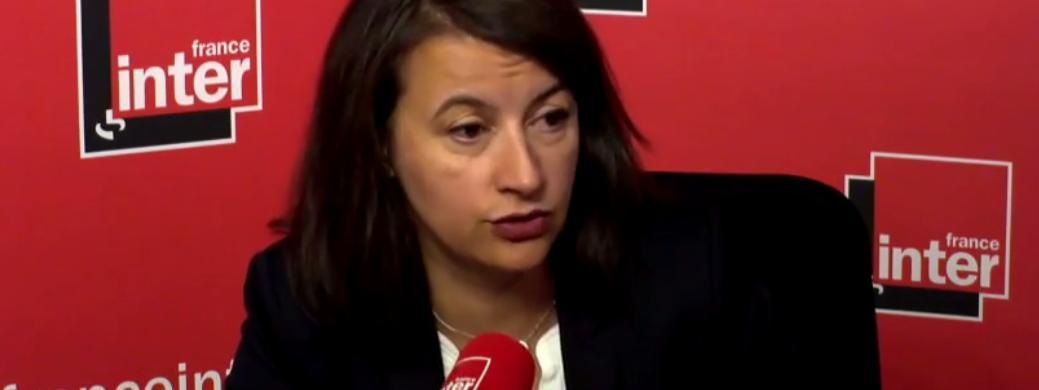 L'ancienne ministre du Logement Cécile Duflot était l'invitée de France Inter, le 29 novembre 2017.
