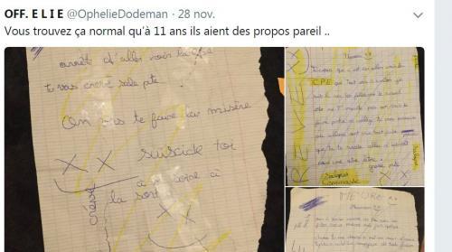 Vosges : la collégienne qui se disait victime de harcèlement a reconnu avoir écrit elle-même les lettres de menaces