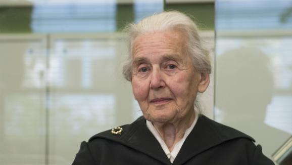 Ursula Haverbeck,condamnée en Allemagne, à 14 mois de prison pour négationnisme.