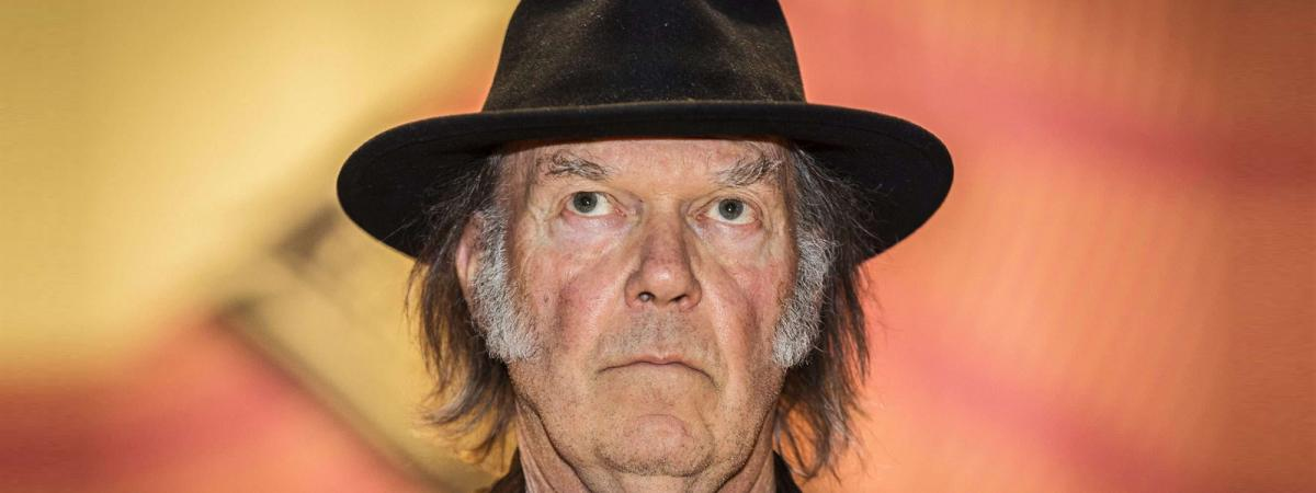 Neil Young à Toronto en 2014.