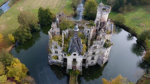 Le château de La Mothe-Chandeniers, dans la Vienne, vendu 500000euros à 6500internautes