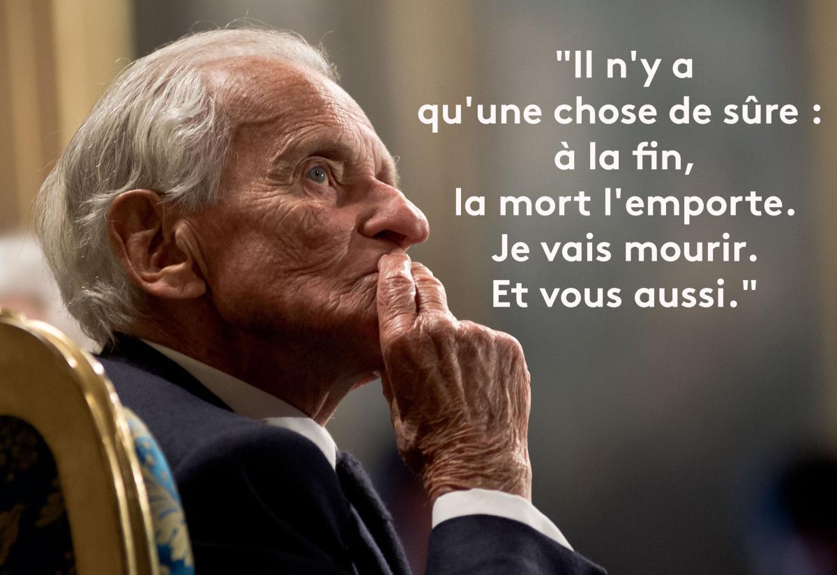 En Images Neuf Fois Où L Immortel Jean D Ormesson A évoqué