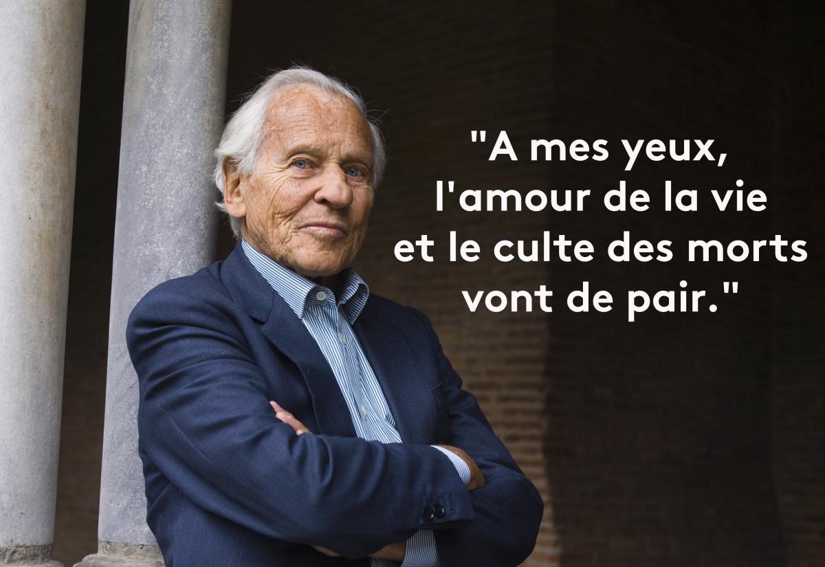 En Images Neuf Fois Ou L Immortel Jean D Ormesson A Evoque La Mort